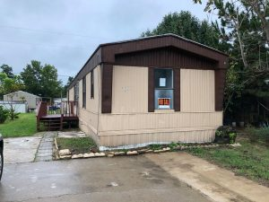 I'm selling my manufactured home.